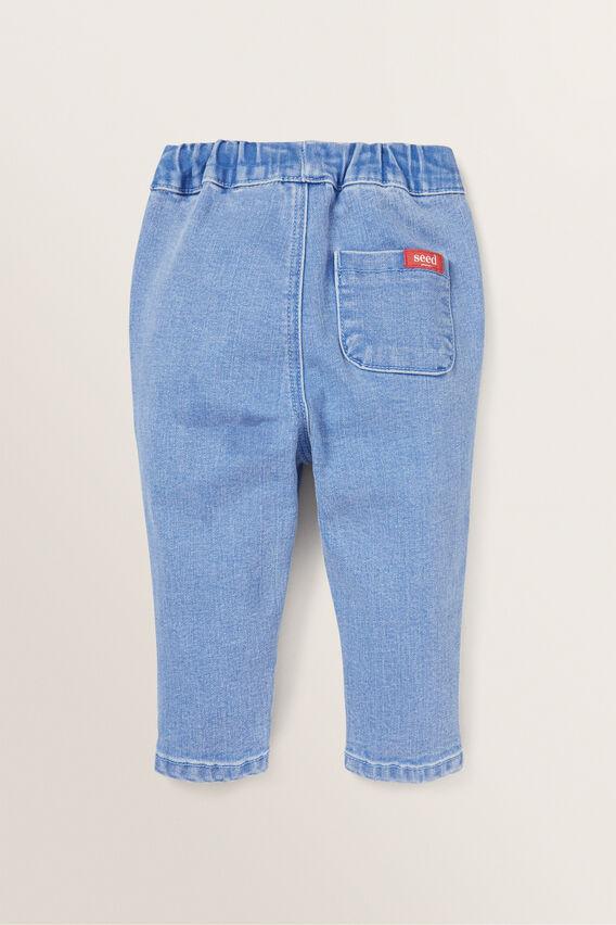 Denim Terry Jeans  BRIGHT WASH  hi-res