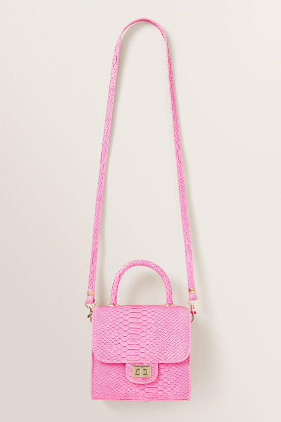 Croc Mini Handbag  FUCHSIA  hi-res