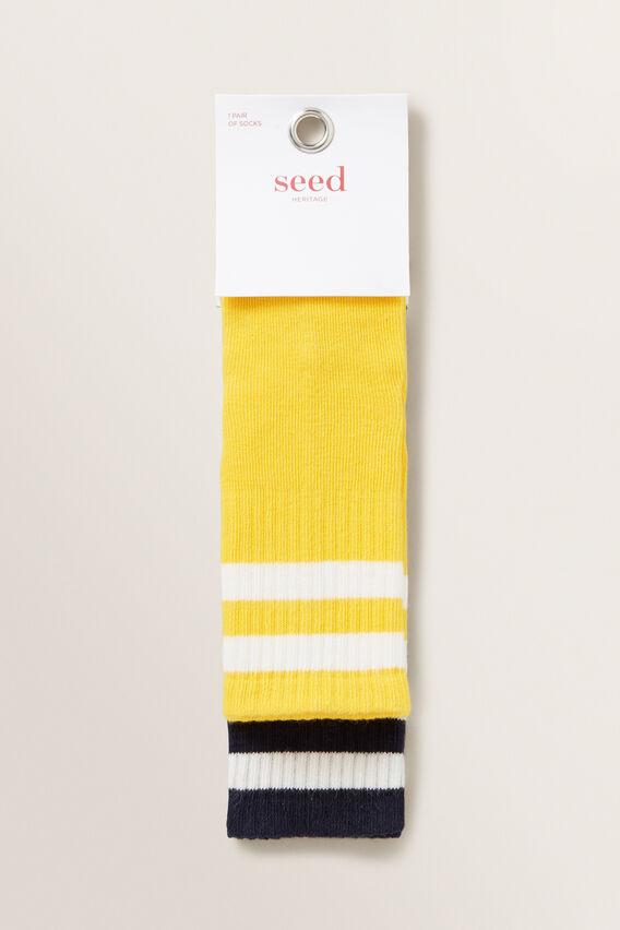 Two Pack Rib Socks  MULTI  hi-res