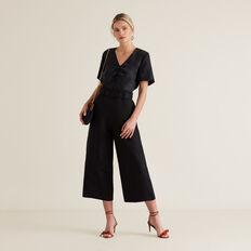 Belted Trouser  BLACK  hi-res
