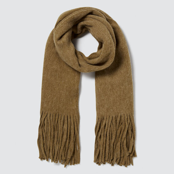 Plush Knit Scarf by Seed Heritage