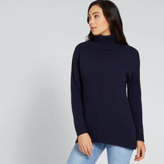Staple Roll Neck Sweater  NAUTICAL BLUE  hi-res