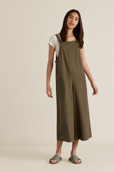 Utility Dungaree  DEEP OLIVE  hi-res