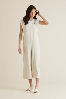 Utility Dungaree  OATMEAL  hi-res