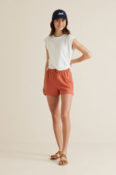 Linen Short  DESERT  hi-res