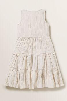 Stripe Midi Dress  SAND  hi-res