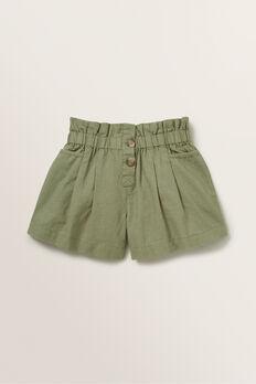 Linen Short  PALE KHAKI  hi-res