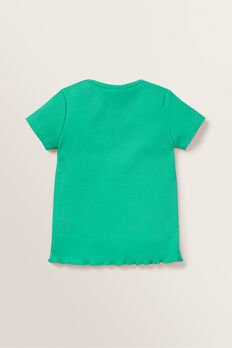 Rib Tee  APPLE GREEN  hi-res