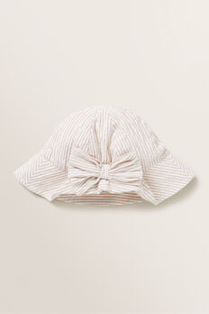 Bow Sun Hat  SAND  hi-res