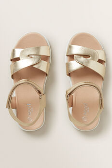 Party Sandal  PALE GOLD  hi-res
