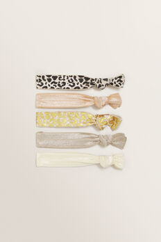 Hair Elastic Pack  OCELOT  hi-res