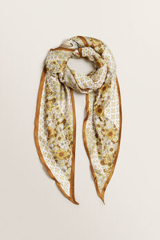 Large Diamond Neck Scarf  PAISLEY  hi-res