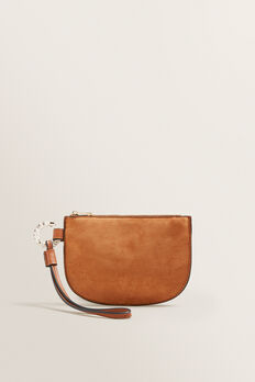 Half Moon Pouch  TAN  hi-res