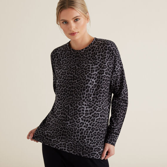 Cheetah Windcheater  CHARCOAL CHEETAH  hi-res