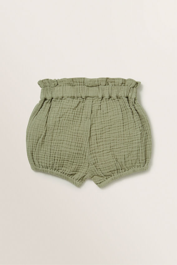 Cheesecloth Short  PALE KHAKI  hi-res
