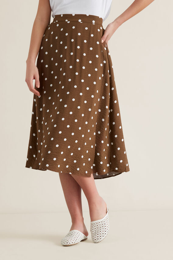 Wrap Spotty Skirt  SPOT  hi-res