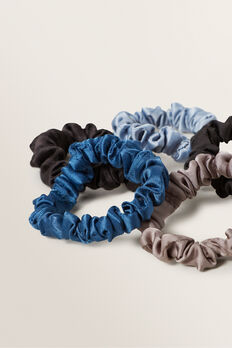 Mini Scrunchie  NAVY  hi-res