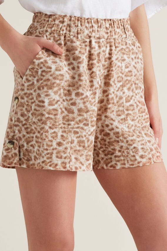 Animal Print Short  ANIMAL PRINT  hi-res