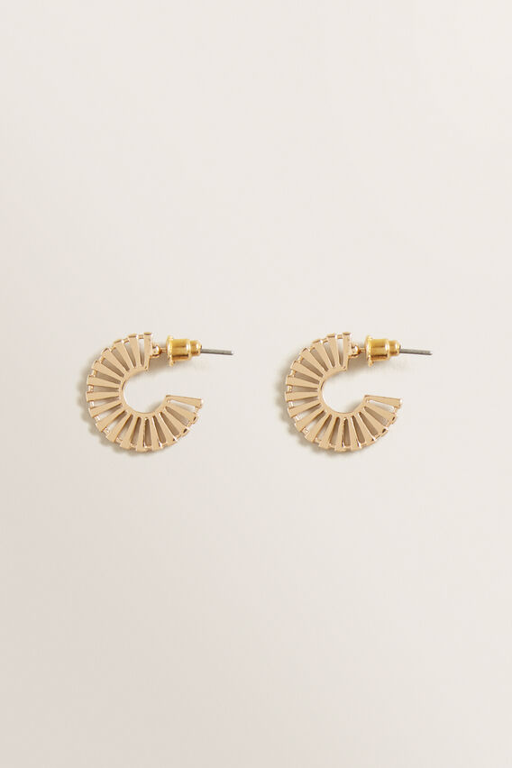 Mini Bar Hoops  GOLD  hi-res