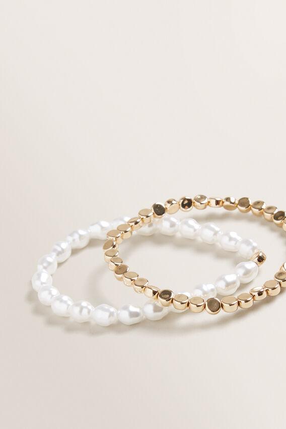 Stretch Bracelet Pack  GOLD  hi-res