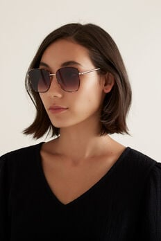 Louise Metal Sunglasses  TORT  hi-res