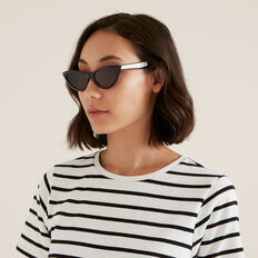 Victoria Cat Eye Sunglasses  TORT  hi-res