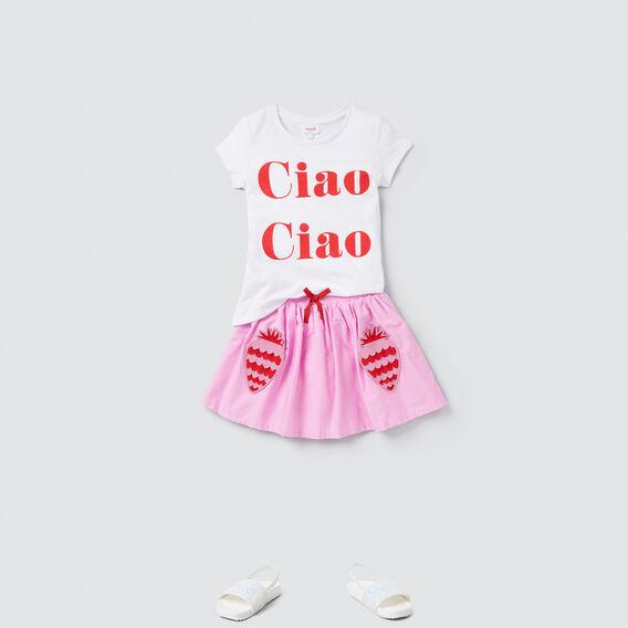 Strawberry Pocket Skirt  BRIGHT LILAC  hi-res