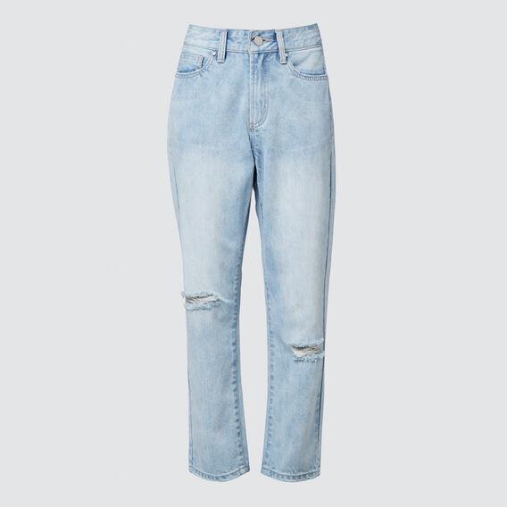 Boyfriend Jeans  LIGHT WASH  hi-res