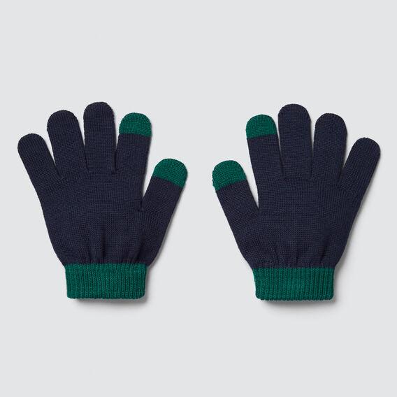 Colour Block Gloves  IVY  hi-res
