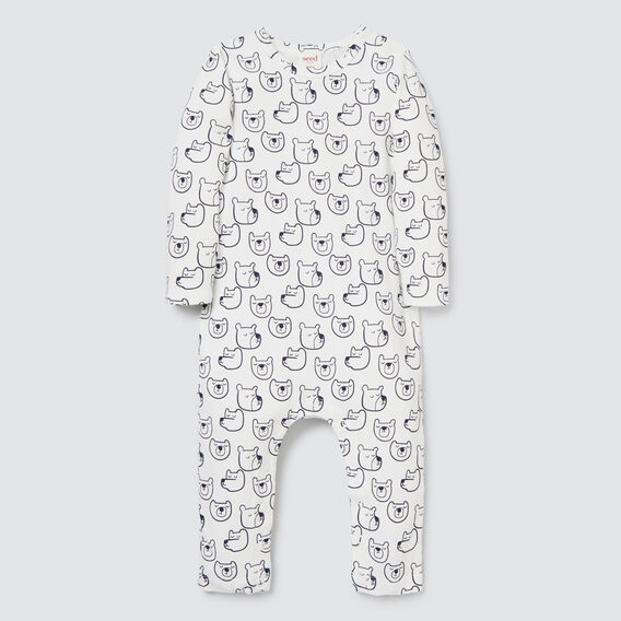 Sleepy Bears Jumpsuit  CANVAS  hi-res