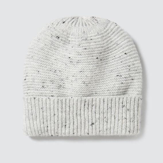 Fleck Knit Beanie  GREY MARLE  hi-res