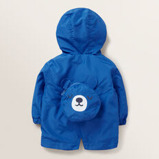 Pack Away Spray Jacket  BRIGHT COBALT  hi-res