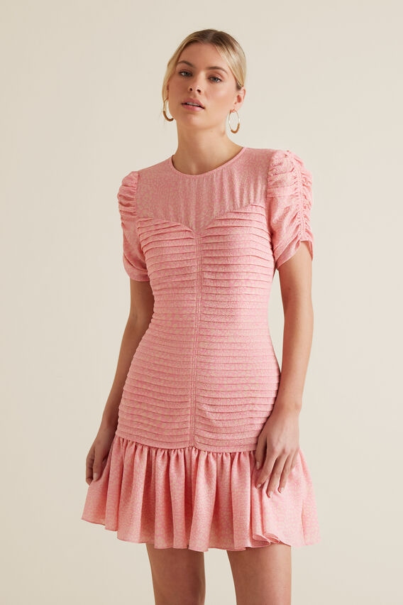 Pleat Party Dress by Seed Heritage