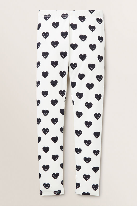 Heart Yardage Legging  BUTTERMILK  hi-res