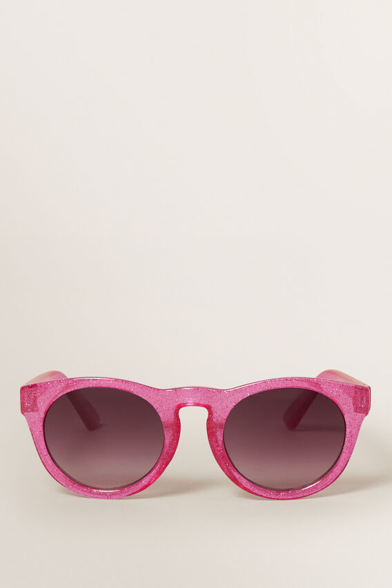 Pink Glitter Sunglasses  PINK  hi-res
