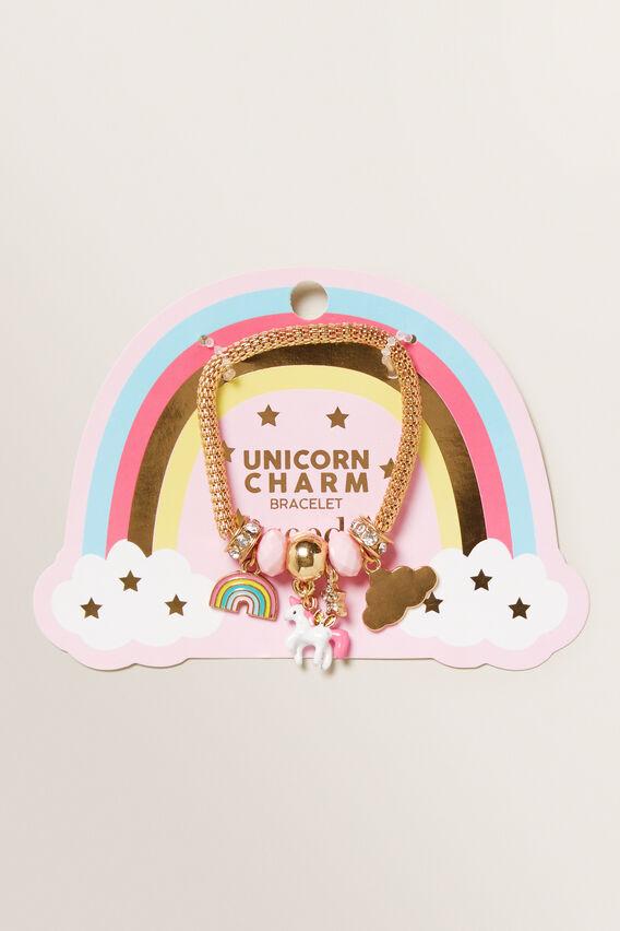 Unicorn Charm Bracelet  MULTI  hi-res