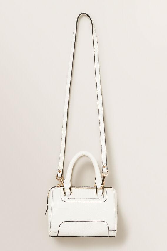 Mini Bowling Bag  WHITE  hi-res