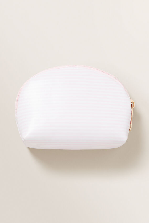 Transparent Heart Handle Bag  ICE PINK  hi-res
