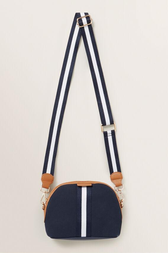 Crescent Stripe Bag  MIDNIGHT  hi-res