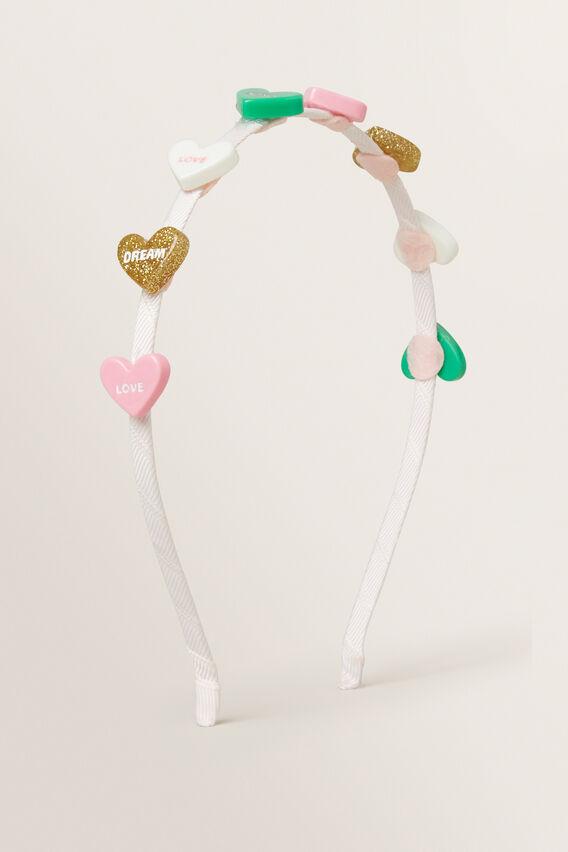 Candy Heart Headband  MULTI  hi-res