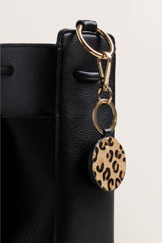 Leather Keyring  OCELOT  hi-res