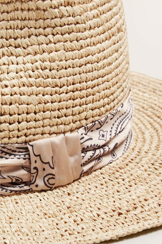 Scarf Band Panama  NATURAL  hi-res