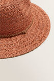 Tassel Band Panama  SUNBURNT ORANGE  hi-res