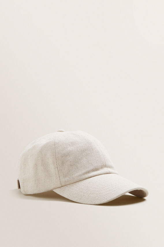 Textured Cap  NATURAL  hi-res