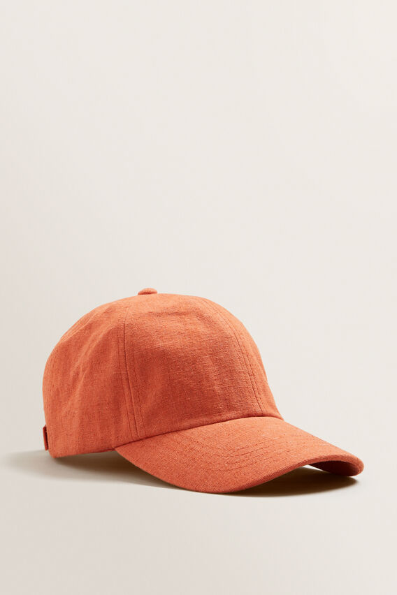 Textured Cap  SUNBURNT ORANGE  hi-res