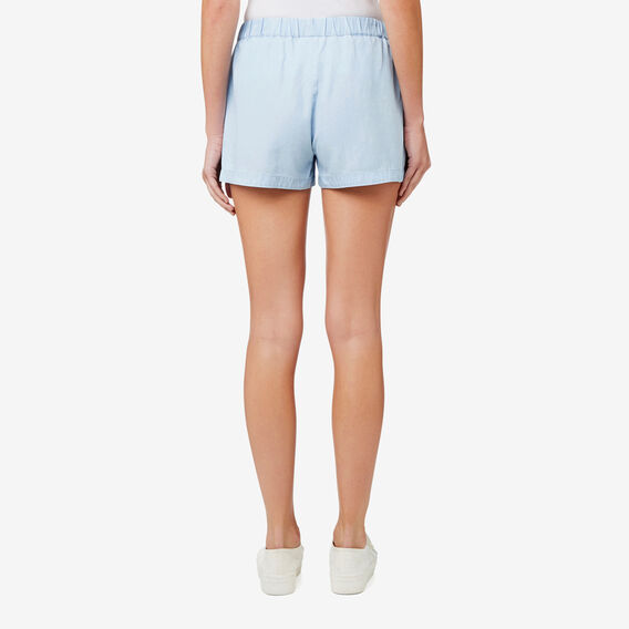 Double Layer Short  SPRING BLUE  hi-res