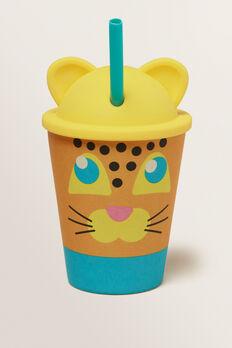 Leopard Eco Kids Tumbler  MULTI  hi-res