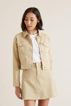 Cropped Denim Jacket  QUICKSAND  hi-res