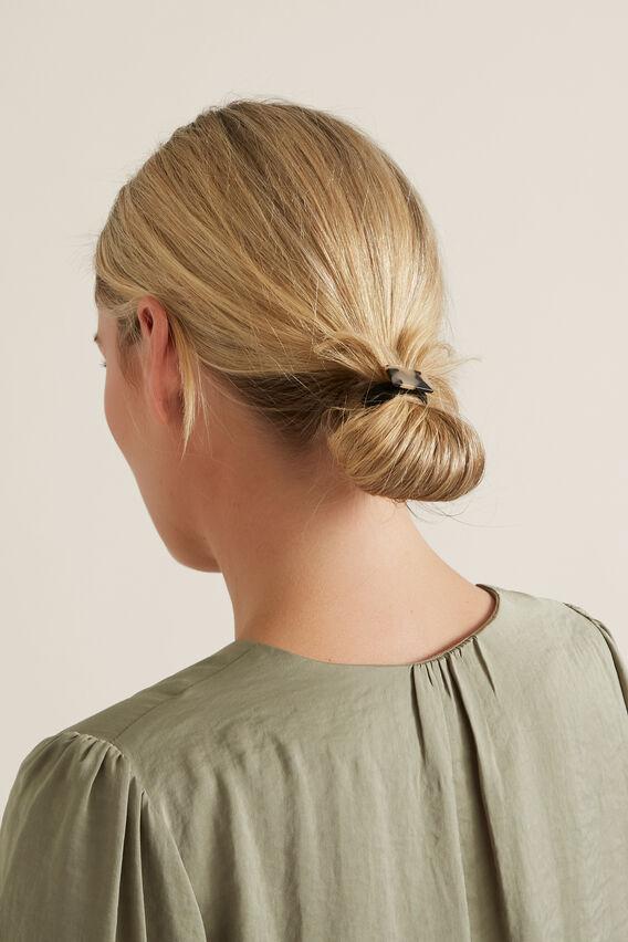 Tort Detail Hair Ties  MILKY TORT  hi-res
