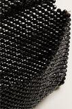 Beaded Fold Over Clutch  BLACK  hi-res